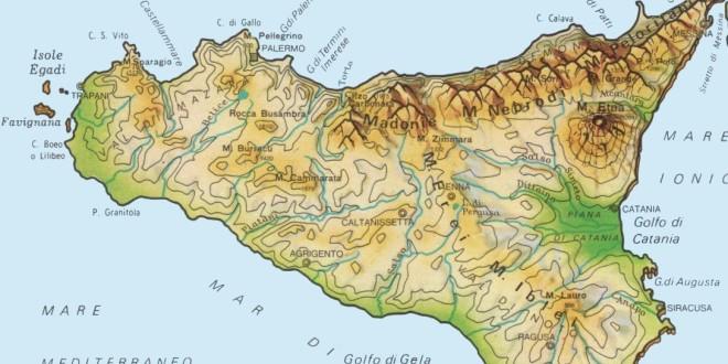Cartina Muta Della Sicilia Da Stampare.Cartina Isole Della Sicilia Cartina Isole Della Sicilia Italia In Cartina