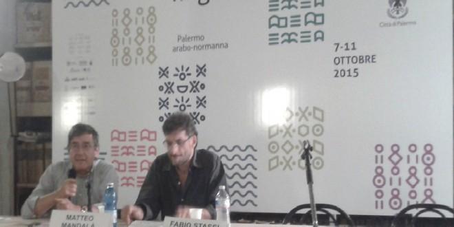 Fabio Stassi e Matteo Mandalà