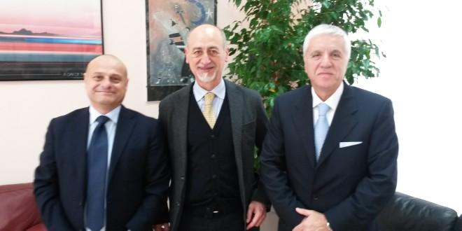 nella foto, da sinistra Fabrizio Di Bella, Gervasio Venuti, Giovanni Bavetta