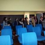 Sala blu - di proiezione  cinematografica