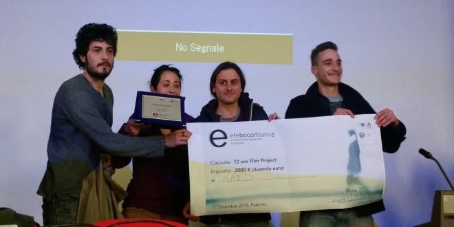 i vincitori di 72 ore film project provenienti da Catanzaro