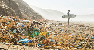 marine-litter-beach-surfer