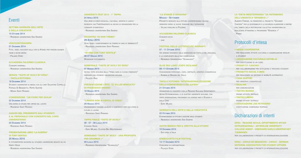 Brochure realizzata da Chiara Carmicino e Vincenzo Colella - Interno