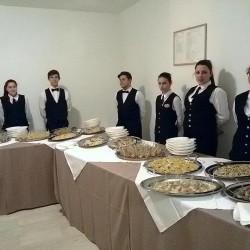 gli studenti dell'IPSAR Cascino