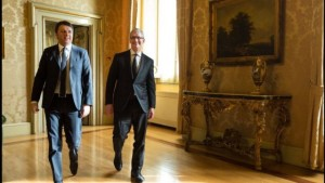 Tim Cook e Renzi. Foto: repubblica.it