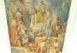 Particolare dell'affresco sul soffitto dell'aula magna della facoltà di Giurisprudenza a Palermo