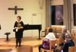 Ringraziamenti al termine del Concerto: Aram Razmgar - Ekaterina Danilova.