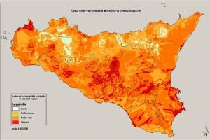 desertificazione sicilia