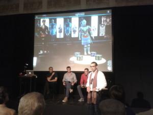 L'ideatore Rosario Perricone insieme ai tre creatori alla presentazione del 06/11/2015