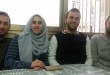 I ragazzi in Erasmus (da sinistra) Muath Alrazad, Faten Ashour, Khaled Eiaina, Zaid Hattab.