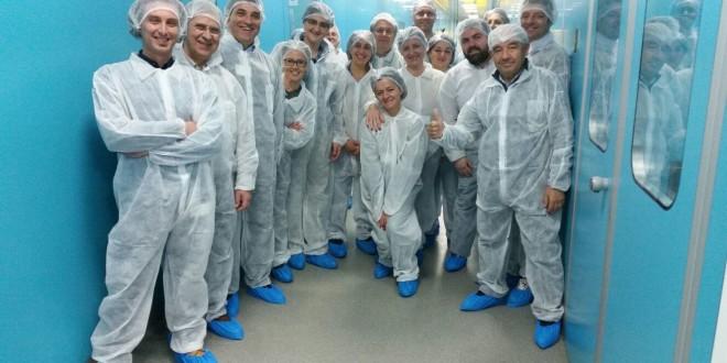 delegazione AVIS Sicilia in visita a Kedrion Biopharma a Bolognana (LU)