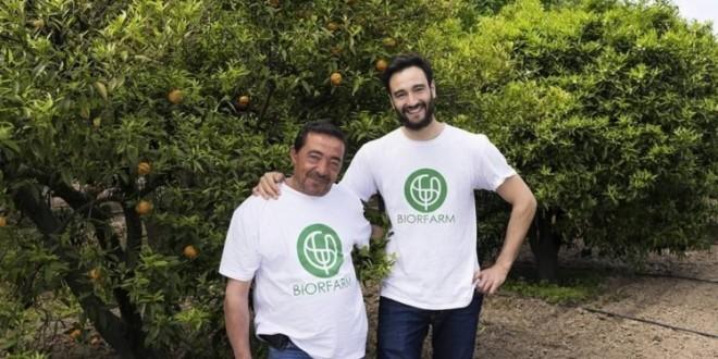 Osvaldo De Falco (a destra), fondatore di Biorfarm (fonte: Agronotizie)