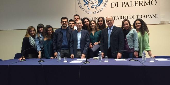 Un momento dell'incontro a Trapani di martedì 19 aprile 2016