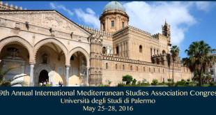 19 th annual mediterranean studies association congress