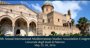 Le culture del Mediterraneo, a Palermo il 19° Congresso internazionale