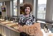 La parlamentare Michela Giuffrida durante la presentazione dell'Olio IGP Sicilia a Bruxelles