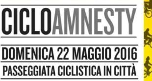 CicloAmnesty 2016: in bici per i diritti umani