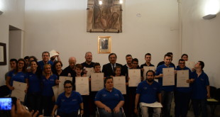 Villa Niscemi cerimonia di riconoscimento