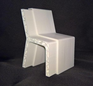 "La sedia di Martina Camarda, ""Matrioska""."