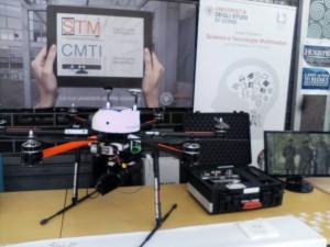 Drone della Protezione civile. Ph Erika Giannusa