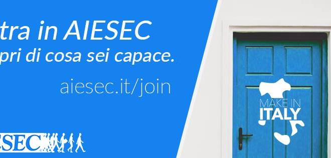Migliorare se stessi nel mondo globalizzato: AIESEC Palermo apre la selezione per nuovi membri