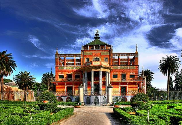 La Palazzina Cinese (fonte: parcodellafavorita.it)