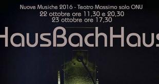 HausBachHaus: belle arti e musica unite in concerto al Teatro Massimo