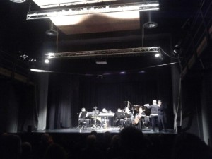 Un momento dell'esecuzione al Teatro S. Giorgio di Udine il 29/10/2016.