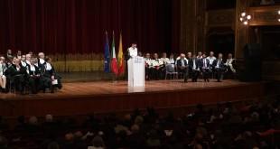 Inaugurazione dell'anno accademico con il presidente Renzi. Gli interventi.