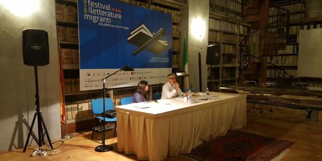 Paolo Di Stefano e Donatella La Monaca al Festival delle Letterature Migranti 2016
