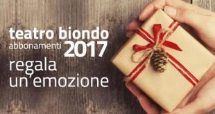 """Il Teatro Biondo di Palermo lancia la """"Open card"""""""