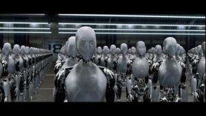 """Momento del film """"Io robot""""."""