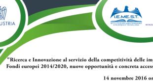 ricerca e innovazione iemest