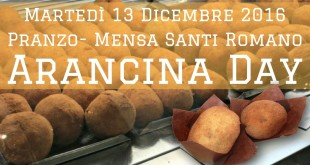Arancina Day all'Ersu di Palermo
