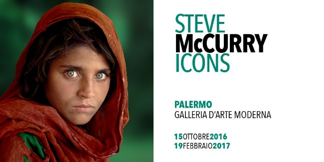 Icons steve mccurry in mostra alla galleria d arte for Mostra steve mccurry palermo