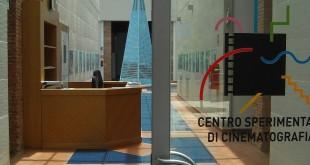 L'iingresso del Centro sperimentale di cinematografia - sede della Sicilia