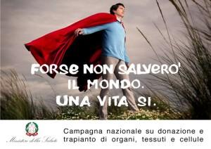 (campagna per la donazione d'organi del ministero della salute)