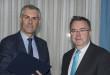 Da sx il rettore UniPa Fabrizio Micari e il rettore UPM Cisneros Pérez di Madrid