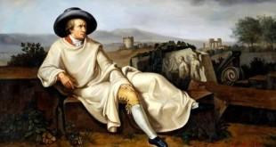 """""""Goethe nella Campagna Romana"""", Johann Heinrich Wilhelm Tischbein, 1787"""