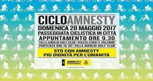 CicloAmnesty 2017, una pedalata per i diritti umani