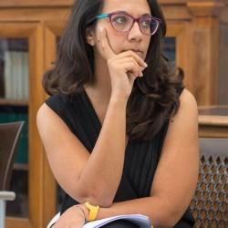 Valentina Ricciardo (Segreteria organizzativa Una marina di libri) - Foto di Azzurra De Luca