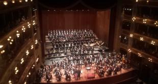 """Palermo festeggia i 120 anni del Teatro Massimo e i 20 anni dalla riapertura con la """"Resurrezione"""" di Mahler"""