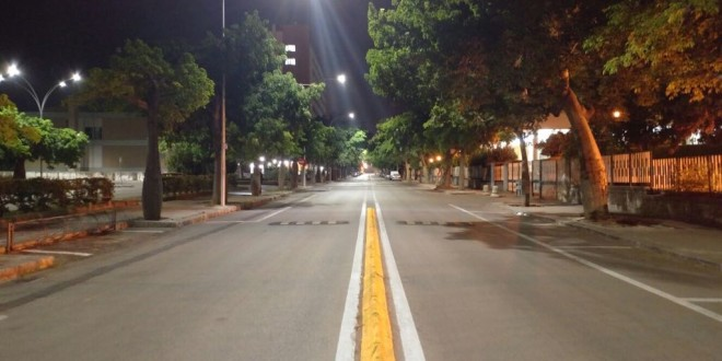 UniPa_Illuminazione Campus Viale delle Scienze 4