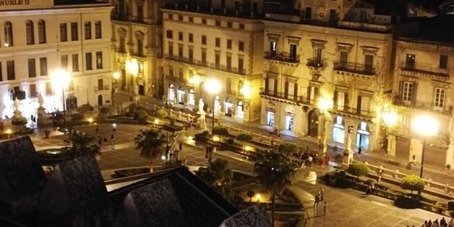 Dai tetti della Cattedrale di Palermo