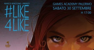 Like4Like: gli autori a Palermo