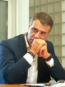 Il commissario straordinario Ersu Roberto Rizzo