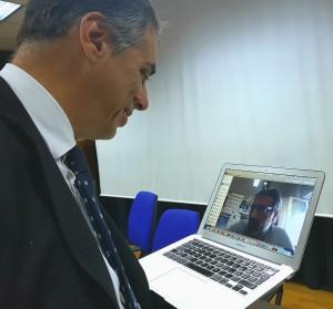 video conferenza con Ag