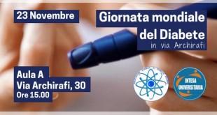 Giornata mondiale del diabete ad Unipa