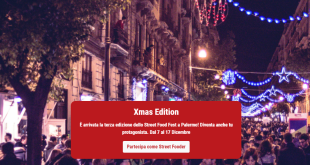 Christmas edition dello street food