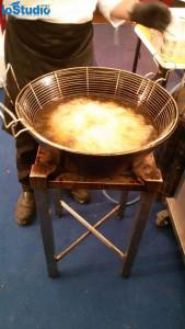 Arancine in frittura